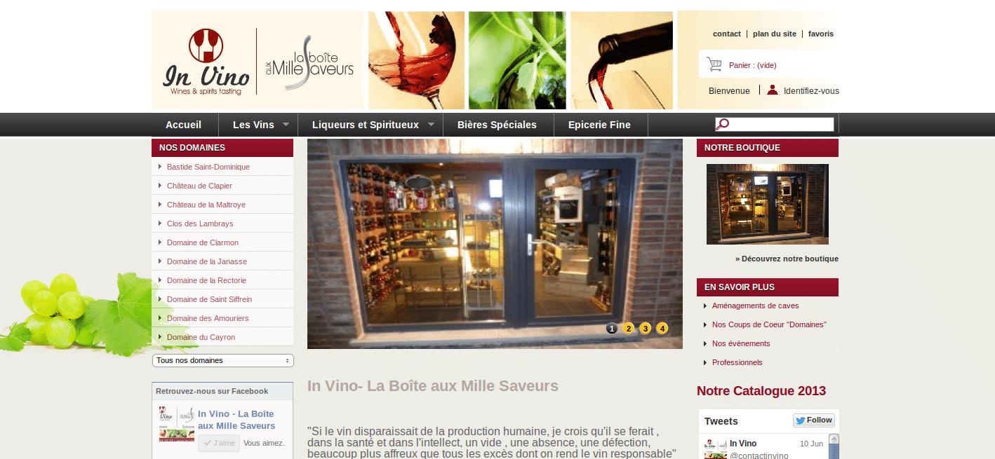 In Vino- La Boîte aux Mille Saveurs