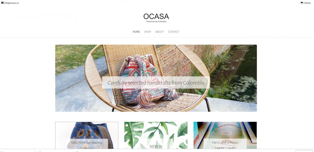 OCASA – Artisanat de Colombie