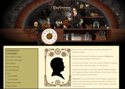 Magicorum – boutique de magie