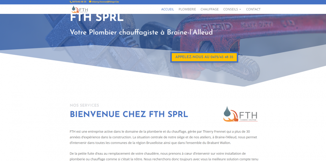 FTH SPRL -Plomberie et Chauffage