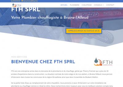 FTH SPRL – Plomberie & Chauffage